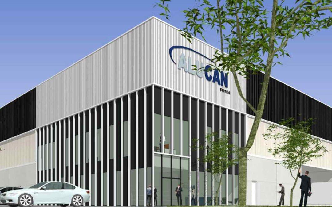 Alucan new factory in Belgium